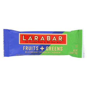 Larabar - Original Fruit And Nut Bar - Fruits And Greens - Case Of 15 - 1.24 Oz.
