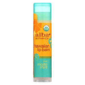 Alba Botanica - Lip Balm - Hawaiian - Case Of 24 - 0.15 Oz.