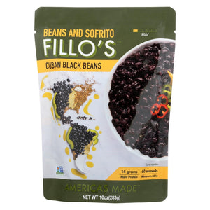 Fillo's Beans - Cuban Black Beans - Case Of 6 - 10 Oz.