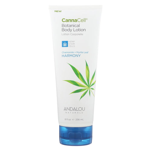 Andalou Naturals Lotion - Chamomile And Myrtle Leaf - Case Of 1 - 8 Fl Oz.