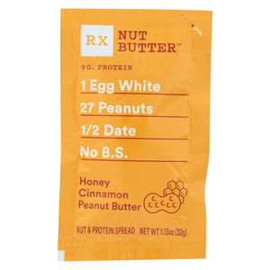 Rxbar - Nut Butter - Honey Cinnamon - Case Of 10 - 1.13 Oz.