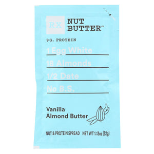 Rxbar - Nut Butter - Vanilla Almond - Case Of 10 - 1.13 Oz.
