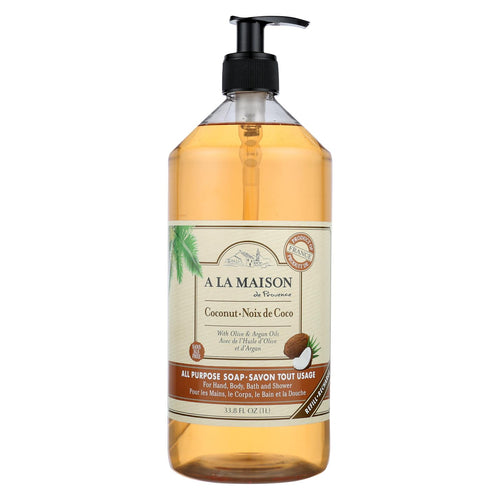 A La Maison - Liquid Hand Soap - Coconut - 33.8 Fl Oz.