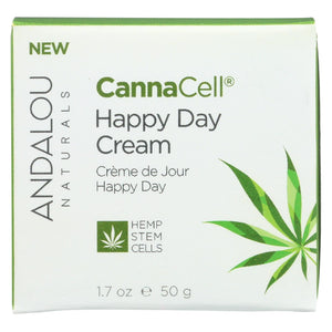 Andalou Naturals - Cannacell Happy Day Cream - 1.7 Oz.