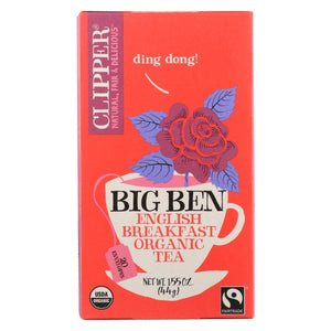 Clipper Tea - Organic Tea - Big Ben - Case Of 6 - 20 Bags