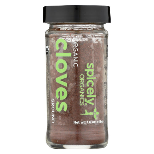 Spicely Organics - Organic Cloves - Ground - Case Of 3 - 1.6 Oz.