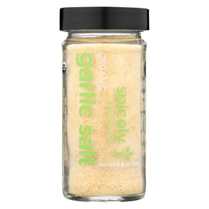 Spicely Organics - Organic Garlic - Seasoning - Case Of 3 - 3.4 Oz.