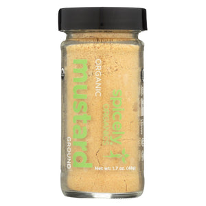 Spicely Organics - Organic Mustard - Ground - Case Of 3 - 1.7 Oz.