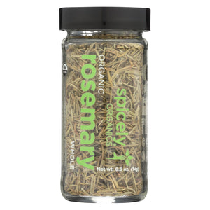 Spicely Organics - Organic Rosemary - Whole - Case Of 3 - 0.5 Oz.