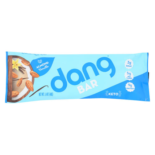 Dang - Bar - Almond Vanilla - Case Of 12 - 1.4 Oz.