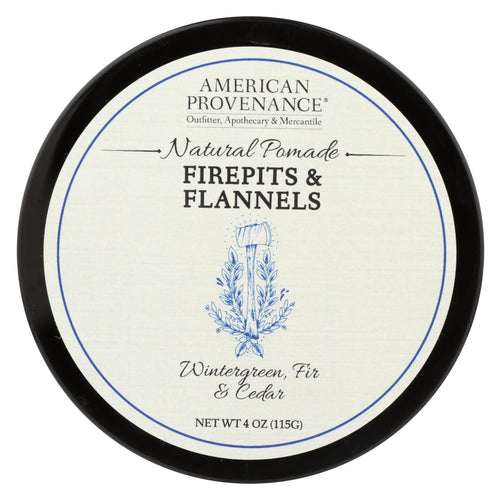 American Provenance - Hair Pomade - Firepits And Flannel - 4 Oz.