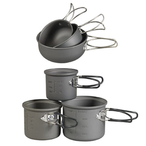 NDuR 6 Piece Essentials Cookware Mess Kit