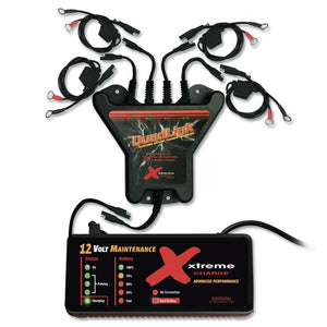 PulseTech Xtreme QuadLink Battery Charger Kit