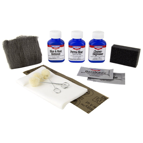 B-c Perma Blue Liquid Gun Blue Kit