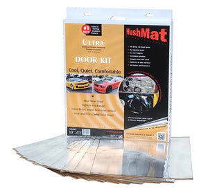 "Hushmat Ultra Door Kit Silver-ten 12""x12"" Sheets (10 Sq. Ft.)"