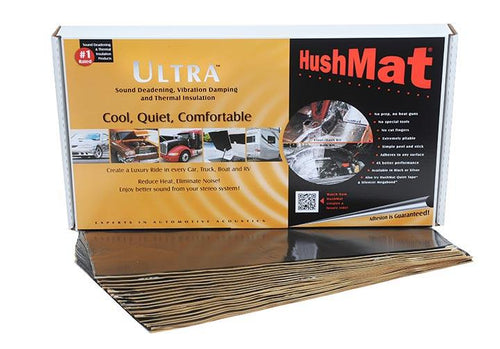 Hushmat Floor-dash Kit  Black; 20 Sheets; 12 In. X 23 In.; 38.75 Sq. Ft.