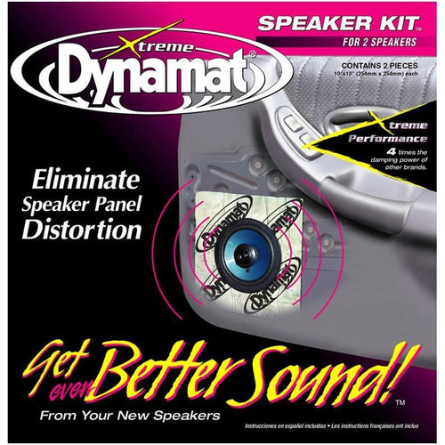 Dynamat Xtreme 1.4 Sq. Ft. Speaker Kit; 2 Pcs 10