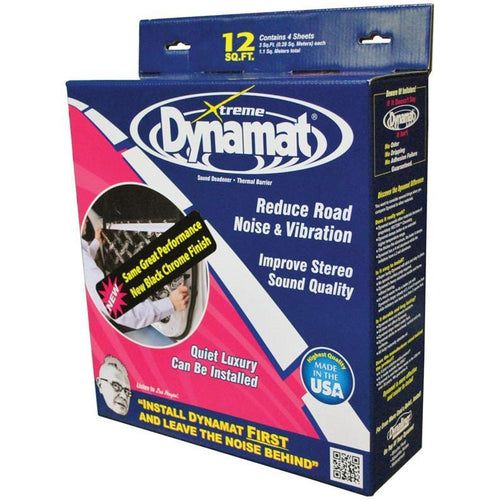 Dynamat Xtreme 12 Sq Ft 4 Sheets 12