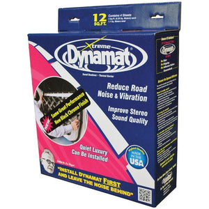"Dynamat Xtreme 12 Sq Ft 4 Sheets 12""x36""; Door-ceiling"