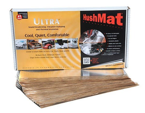 "Hushmat Bulk Kit Silver; (30) 12"" X 23""  Sheets; 58.1 Square Feet"