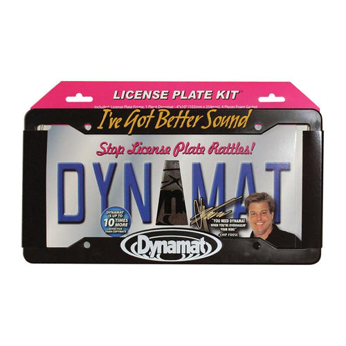 Dynamat License Plate Kit 4