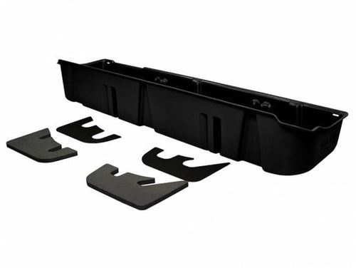 Du-ha Under Seat Storage Fits 09-14 Ford F-150 Supercrew Without Subwoofer Black