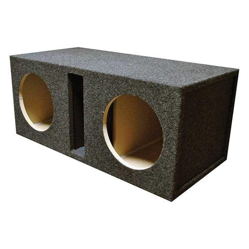 Empty Woofer Enclosure Obcon Dual 12