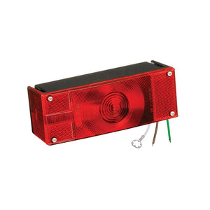 Wesbar Low Profile Trailer Tail Light - Submersible - 8 Function - Incandescent - Driver Side