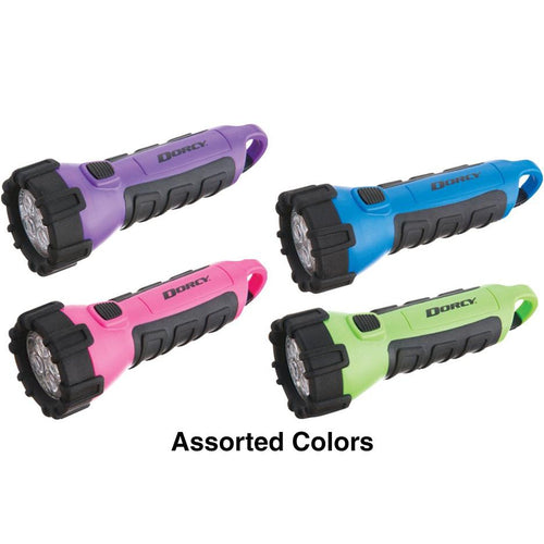 Dorcy 3aa 4 Led Floating Flashlight Asst Colors