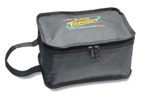 Battery Tender Black Medium Zipper Pouch