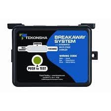 Tekonsha Breakaway Sys For 1 To 3 Axle Trailers Electric Brakes Includes Battery Box 5 Amp Battery