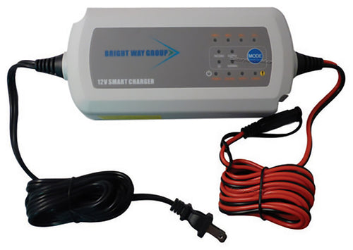 Bright Way 7.5a 12 Volt Desulfating Smart Charger-maintainer