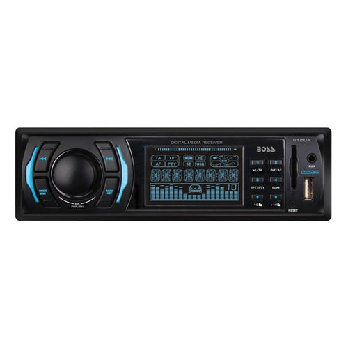 Boss Mp3 Receiver Am-fm Usb-sd Front Aux Input