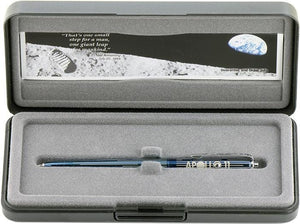 Fisher Space Pen Special Edition 45th Anniversary Astronaut - Blue Titanium Nitride Over Chrome