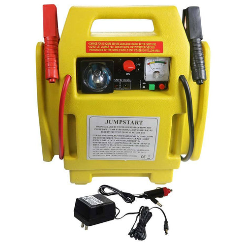 Al's Portable 3in1 Jump Starter With Air Compressor & Light