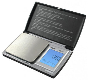 American Weigh Scale Bt2-201 Digital Gram Pocket Grain Jewelry Scale Black 200 X 0.01 G