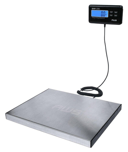American Weigh Scale Ship-330 Digital Shipping Postal Scale 330 Pounds X 0.1 Pounds