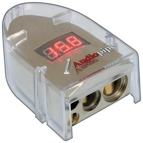 Battery Terminal Audiopipe With Digital Display