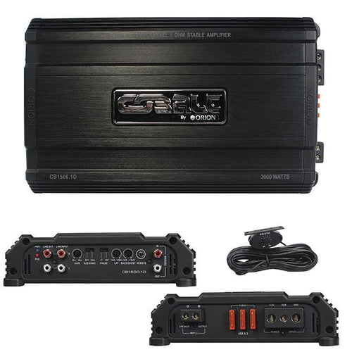 Orion Cobalt D Class Amplifier 1500 Watts Max @ 1 Ohm
