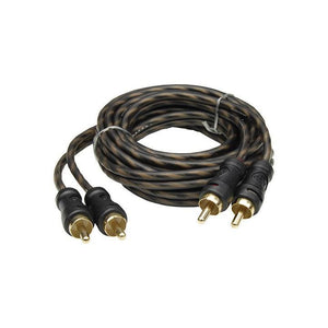 Audiopipe 24kt Gold Plated Interconnect Cable 6ft