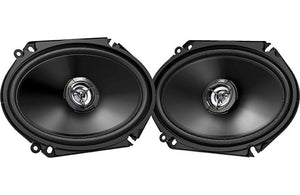 "Jvc 6x8"" 2-way 300w Coaxial Speakers"