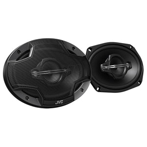 "Jvc Hx Series 6x9"" 4-way 600w Max Coaxial Speakers"