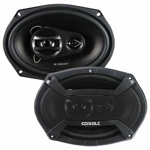 "Orion Cobalt 6x9"" 3 Way Speakers"