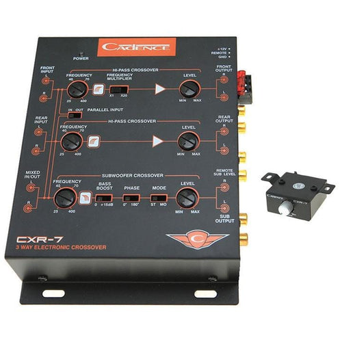 Cadence 3 Way Electronic Xover 7volt Line Driver