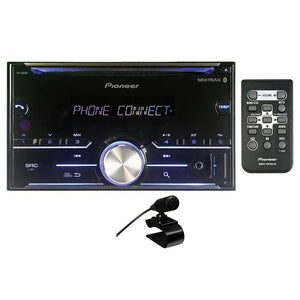 Pioneer D.din Cd Player W-btauxusb2xpreoutspotify Pandora