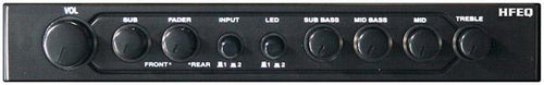 Equalizer-crossover Hifonics 1-2 Din; 4band Eq; 2-way Xover