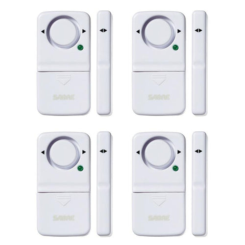 Sabre Wireless Home Security Door Window Burglar Alarm W 120 Db Siren