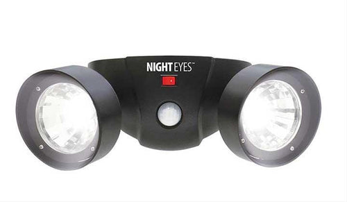 Ideaworks Night Eyes Security Lights Black