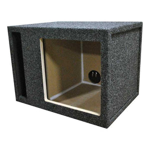 Empty Woofer Box; R-t Single 12 For Kicker L5+l7; Slot Vent