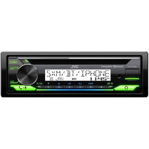 Jvc Cd Receiver For Marine With Bluetooth Front Usb And Aux Input